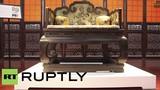 Bán đấu giá ngai vàng vua Càn Long từ 56 triệu USD
