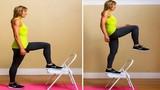 Bài tập thể dục với ghế cực tốt cho sức khỏe