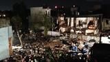Bên trong đống đổ nát sau vụ nổ khiến 7 người thương vong