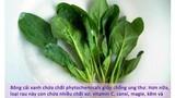 Các loại rau mùa thu bạn nên ăn nhiều cho khỏe đẹp