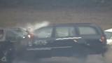 Sức công phá khủng khiếp của ôtô khi đâm ở tốc độ 200km/h
