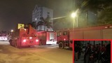 Cháy chung cư Hồ Gươm Palaza , hàng trăm người tháo chạy giữa đêm