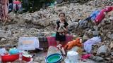 Hiện trường hoang tàn sau trận sạt lở núi ở Nha Trang