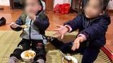 Bố mẹ chết, 2 cháu bé bị bác ruột bỏ rơi trên đê sông Hồng
