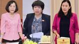 Chân dung 3 nữ ĐBQH tham gia Ủy ban Thường vụ Quốc hội khóa XV