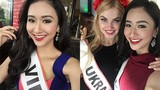 Loạt ảnh xinh tươi của Á hậu Hà Thu tại Miss Intercontinental
