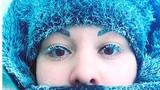 Râu tóc đóng băng trong cái lạnh -62 độ C ở Nga
