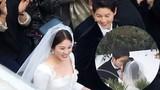 Ảnh đẹp Song Joong Ki khóa môi Song Hye Kyo trong đám cưới