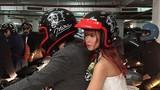 Kelvin Khánh rước dâu bằng mô tô trong đám cưới với Khởi My