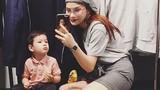 Hot Face sao Việt 24h: Hậu ly hôn, Thu Thủy một mình chăm con ốm