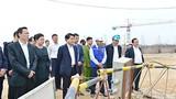 Chủ tịch Hà Nội thị sát tiến độ dự án Nhà máy nước mặt sông Đuống