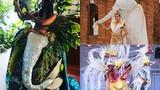 Quốc phục độc lạ của dàn đối thủ H'hen Niê tại Miss Universe 2018