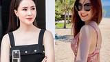 """Hồng Diễm đọ gợi cảm với """"tình địch"""" Lương Thanh"""