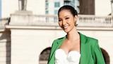 Sau sự cố nộp phạt, Hoàng Thùy chào sân Miss Universe bằng loạt ảnh gợi cảm