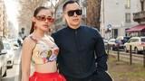 Vẻ gợi cảm của người mẫu cùng Vũ Khắc Tiệp dự show thời trang ở Italy
