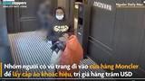 Video: Nhóm người có vũ trang chuyên đi cướp hàng hiệu ở Mỹ