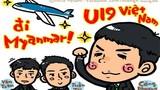 Nữ phóng viên Nhật tiếp tục cho ra lò tranh vẽ U19 VN