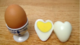 Cách làm trứng luộc hình trái tim cực dễ
