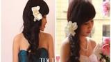 Hướng dẫn bạn gái tạo kiểu tóc đẹp cho ngày Valentine