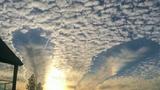 Cận cảnh đám mây kỳ lạ trên bầu trời Mỹ