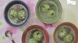 Làm bánh trôi trà xanh nhân vừng đen đón Tết Hàn thực