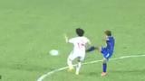 Tình huống chơi xấu của các cầu thủ nữ Thái Lan