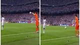 Tình huống ném biên khôi hài nhất của thủ thành Real Madrid