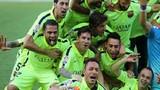Màn ăn mừng chức vô địch hoành tráng của cầu thủ Barcelona