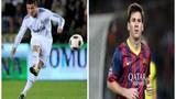 Sự khác nhau giữa Ronaldo và Messi khi bị phạm lỗi
