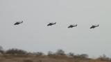 Xem trực thăng tấn công Nga hạ mục tiêu bằng tên lửa
