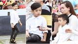 Tài năng hát tiếng Anh không đợi tuổi của con trai Hà Hồ
