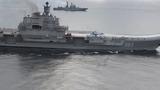 Tàu sân bay duy nhất của Nga thị uy trên Địa Trung Hải