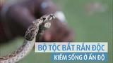 Bộ tộc bắt rắn độc kiếm sống qua ngày ở Ấn Độ