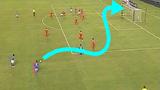 10 pha sút phạt ghi bàn đẹp mắt với đường bóng khó lường