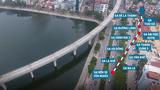 Toàn cảnh tuyến đường sắt trên cao Cát Linh - Hà Đông sắp hoạt động
