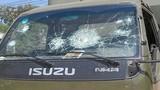 Điều tra vụ xe cảnh sát giao thông bị đập phá