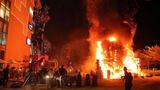 Video cảnh cháy lớn ở buổi ra mắt phim Kong: Skull Island