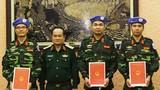 3 sĩ quan Việt Nam sang Trung Phi làm nhiệm vụ