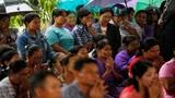 Nước mắt trong lễ hỏa thiêu nạn nhân vụ rơi máy bay Myanmar