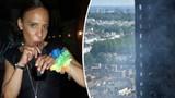 Thoát chết trong vụ hỏa hoạn ở London nhờ xả nước ngập phòng