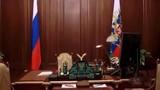 Tổng thống Putin lần đầu hé lộ phòng làm việc trong điện Kremlin