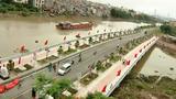 Cây cầu 80 tỷ lập kỷ lục Việt Nam về thời gian thi công