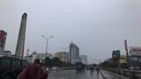 TP HCM: Mưa lớn, 17h chiều trời bỗng tối sầm