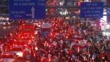 Giao thông Sài Gòn hỗn loạn, 'ngạt thở' những ngày cận Tết