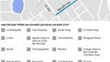 [Infographics] Hà Nội phân luồng giao thông phục vụ lễ Quốc tang