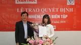 Bà Nguyễn Thị Mai Hương trở thành Tổng biên tập Báo điện tử Kiến Thức