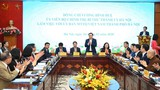 Bí thư Thành ủy Vương Đình Huệ làm việc với UBMTTQVN TP Hà Nội