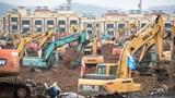 Đối phó virus corona, Trung Quốc xây dựng cấp tốc bệnh viện 1.000 giường trong 6 ngày