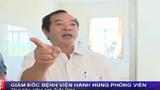 Clip: Giám đốc bệnh viện văng tục, hành hung phóng viên
