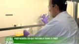 Pháp nghiên cứu que thử Ebola trong 15 phút